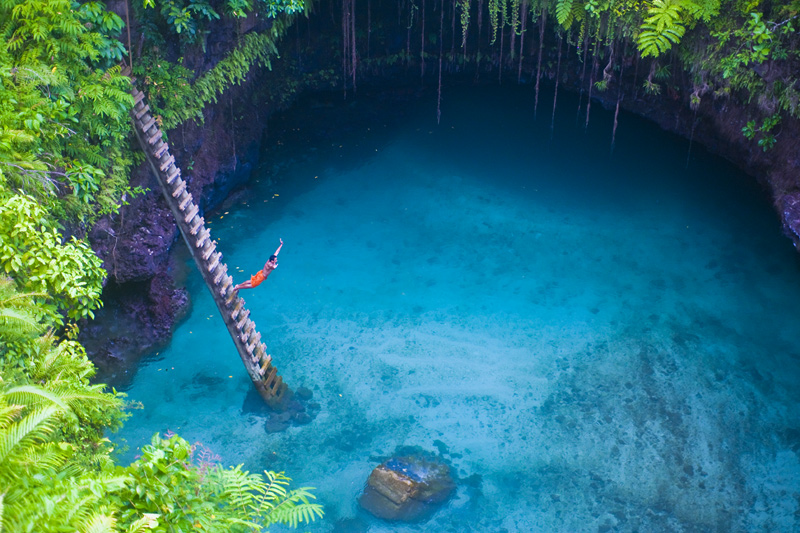 how to get to to sua ocean trench