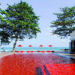 The Library pool in Koh Samui, Thailand
