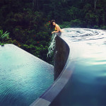 The pool at Hanging Gardens Ubud Hotel in Bali, Indonesia