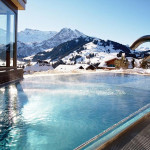 The pool at the Cambrian in Switzerland